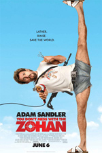 You Don't Mess with the Zohan Review by Amy Simmons